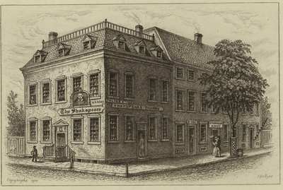 Shakspeare Tavern, 1820